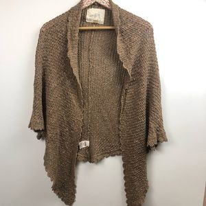 Angel of the North Anthropologie cardigan XS/S